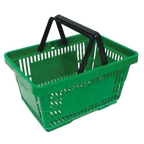 Košík Racks Shopper, 20 lit, zelený, nákupný