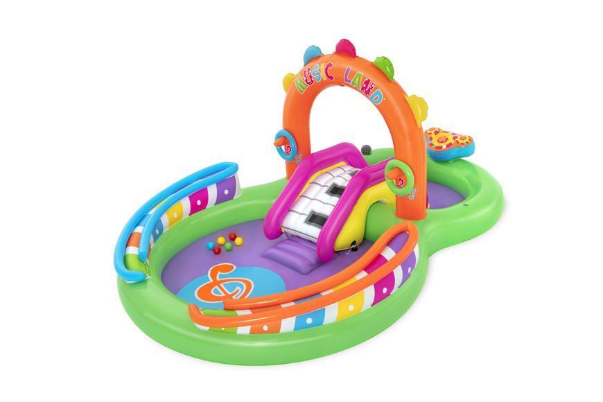 Bazénik Bestway® 53117, Sing 'n Splash, detský, nafukovací, 2,95x1,90x1,37 m