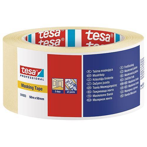 Páska tesa® PRO, maliarska, maskovacia, 50 mm, L-50 m