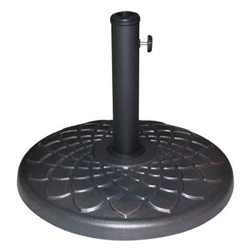 Stojan LEQ TYLER, 25 kg, kovový, 50 cm, na plážový slnečník/dáždnik