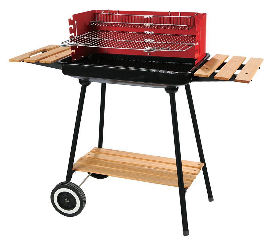Gril BBQ Granada, 90x45x90cm, na drevené uhlie