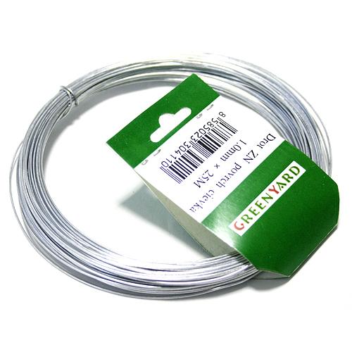 Drôt Gwire.mc Zn 1,00 mm, L-25 m