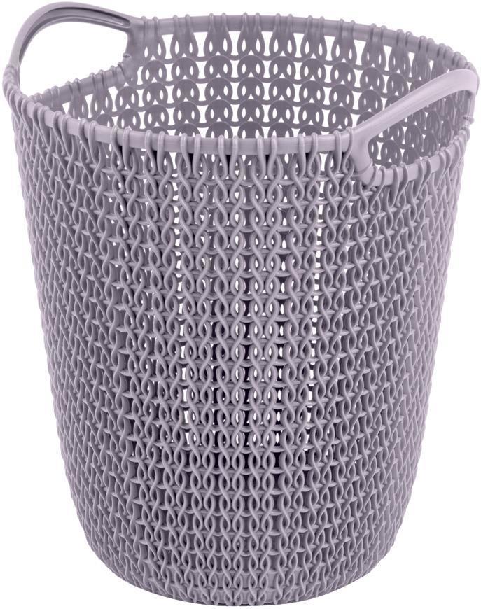 Kôš Curver® KNIT PAPER BIN 7L, svetlofialový, 24x27x23 cm, na papier