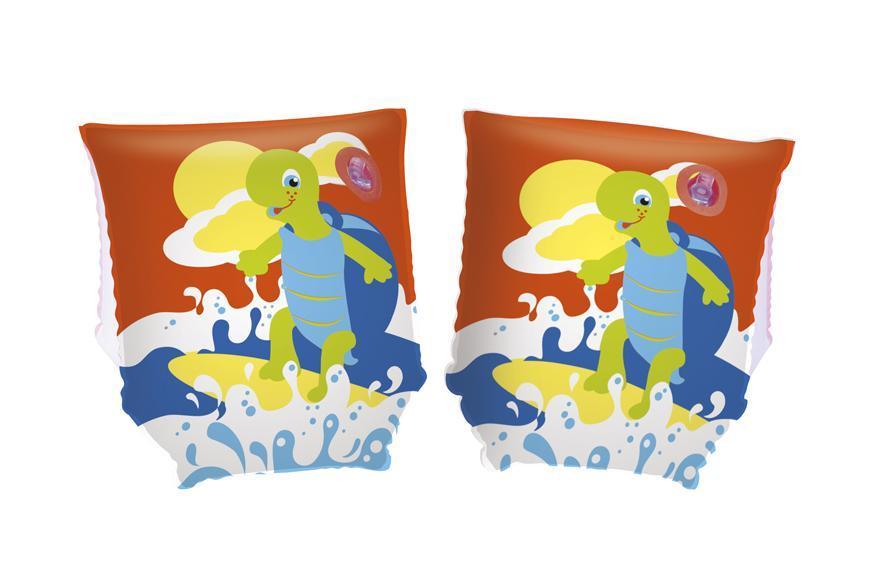 Rukavniky Bestway® 32043, Turtle, 23x15 cm, nafukovacie, detské