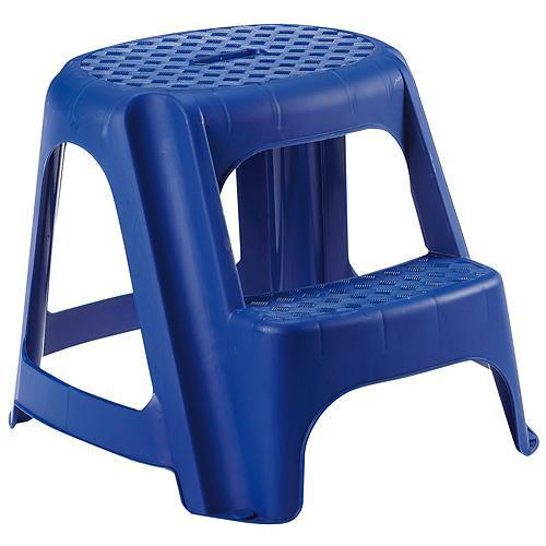 Stupadlo plastové, 2 stupne, 40 cm, modré, nos. 150 kg