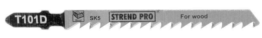 List do priamočiarej píly Strend Pro T101D 100mm, 6z, na drevo, bal. 5 ks
