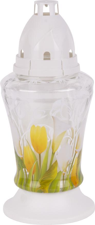 Kahanec bolsius Tulips 3D, 18 cm, 36 h