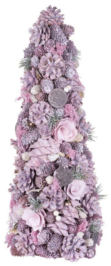 Stromček MagicHome Vianoce, ozdobený, 40 cm