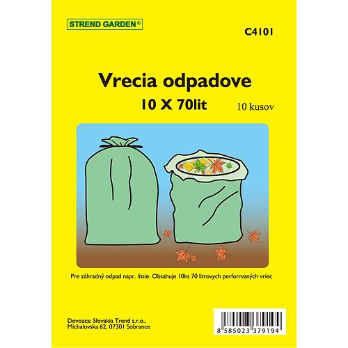 Vrecia Garden 70 lit, 60x100cm, 10 ks, Perfor