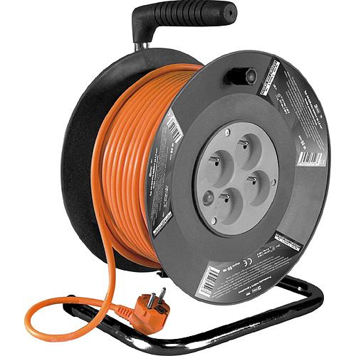 Kábel Strend Pro DG-FB04 25 m, predlžovací na bubne
