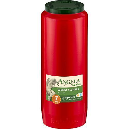 Napln bolsius Angela NR12 červená, 155 h, 471 g, olej