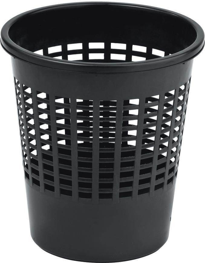 Kôš Curver® BASIC 10L, čierný, na odpad