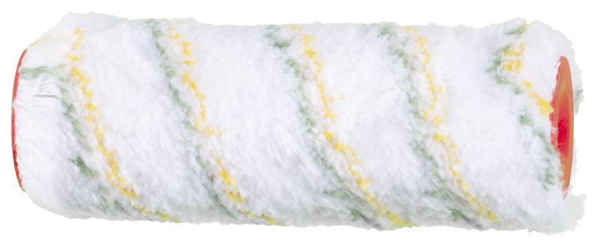 Valček maliarsky PA zeleno/žltý, 180 mm, 48/8 mm