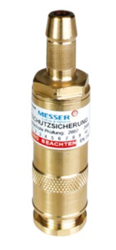 Poistka Messer 0.463.357, DKST • 9.0mm, Oxy, 15bar, hadicova