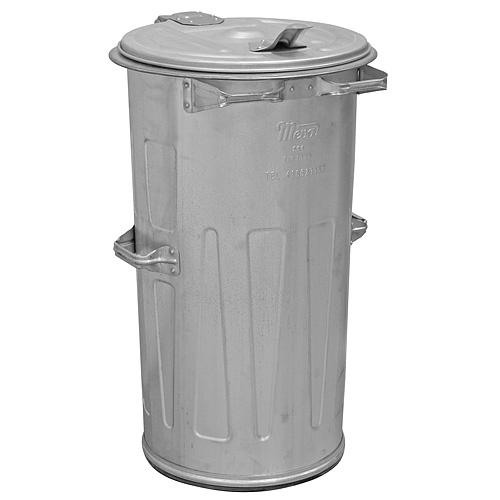 Nadoba KUKA 110 lit, plechová, popolnica na odpad