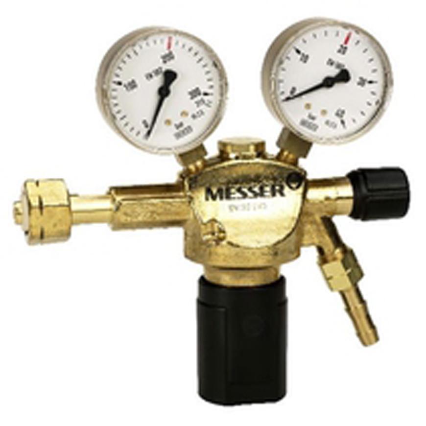 "Ventil Messer 716.20111, G3/8"" LH, DN8, 20 bar, Horľ. plyn"