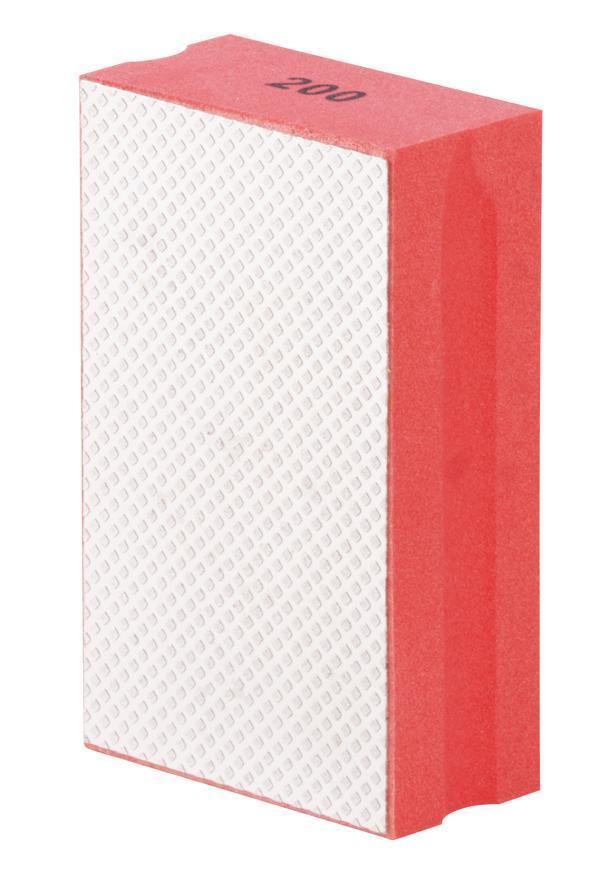 Podlozka brúsna Strend Pro DP510, 95x55x30mm, P200, diamantová, pre obkladačov