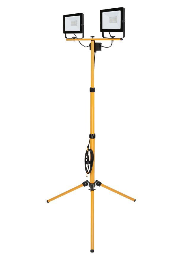 Reflektor Strend Pro Worklight SMD LED BL2-E2, 2x50W, 4000 lm, so stojanom, kábel 2.5 m, IP65