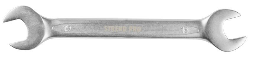 Kluc Strend Pro 3113 18x19 mm, vidlicový, Cr-V
