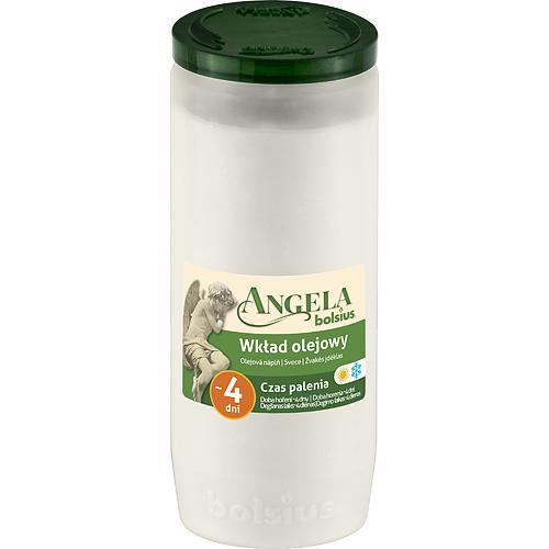 Napln bolsius Angela NR05 biela, 82 h, 243 g, olej