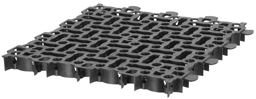 Mriežka zatrávňovacia bez kolíkov GardenPUZZLE II, 500/39 mm, čierna, UV (DOPREDAJ NÁHRADA 2171293)