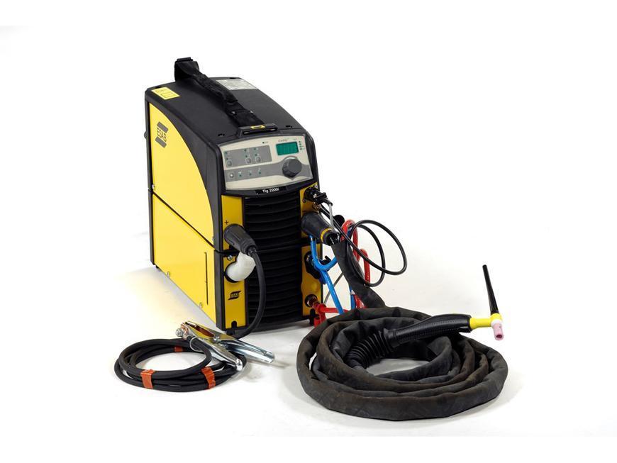 Zvaracka ESAB Caddy™ TIG 2200iw TA33, DC, TIG/MMA + kable, vod. chladenie