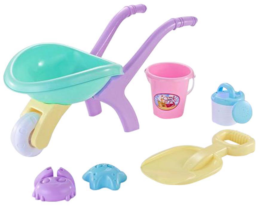 Sada hračiek Strend Pro, do piesku s fúrikom, dievčenská