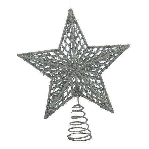 Ozdoba MagicHome XO344B, Hviezda strieborná