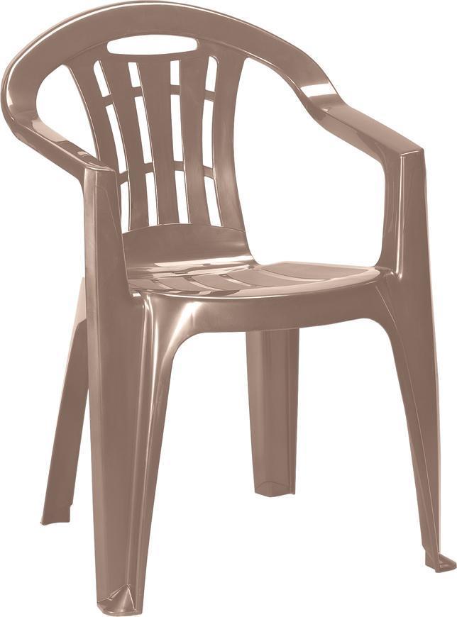 Stolička Curver® MALLORCA, cappuccino