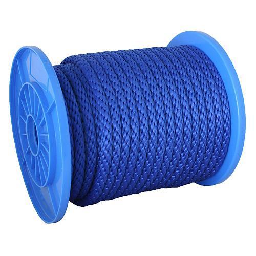 Lano Strend Pro MSB200, 10 mm, 60 m, PP, modré, nos. 284 kg