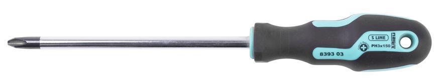 Skrutkovač Narex 8393 03 • Phillips PH 3, 8,0/150/260 mm, SLine Profi