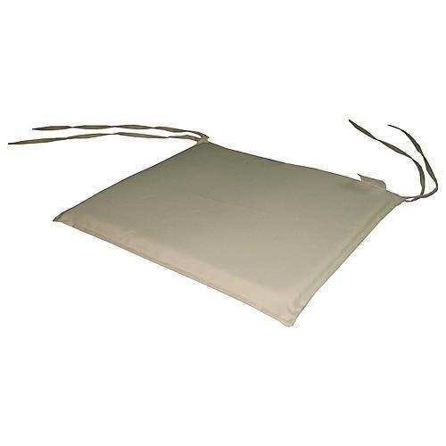 Podložka LEQ HOBRO, krémová, 39x36x2 cm, stolicka