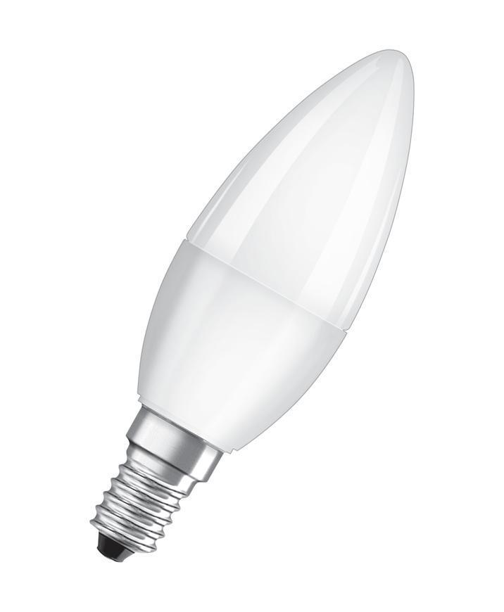 Ziarovka OSRAM® LED FR 040 (ean1066) non-dim, 5,7W/865 E14 6500K Value CLASSIC B