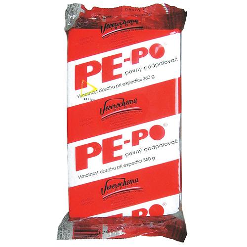 Podpaľovač PE-PO®, pevný, 40 podpaľov