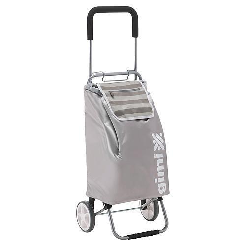 Vozik GIMI Flexi, šedý, nákupný