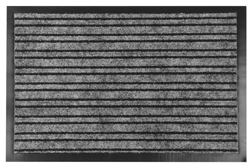 Rohozka MagicHome TRM 235, 40x60 cm, BlackWhite