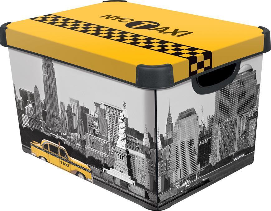 Box Curver® DECO STOCKHOLM L, NYC, 40x25x30 cm