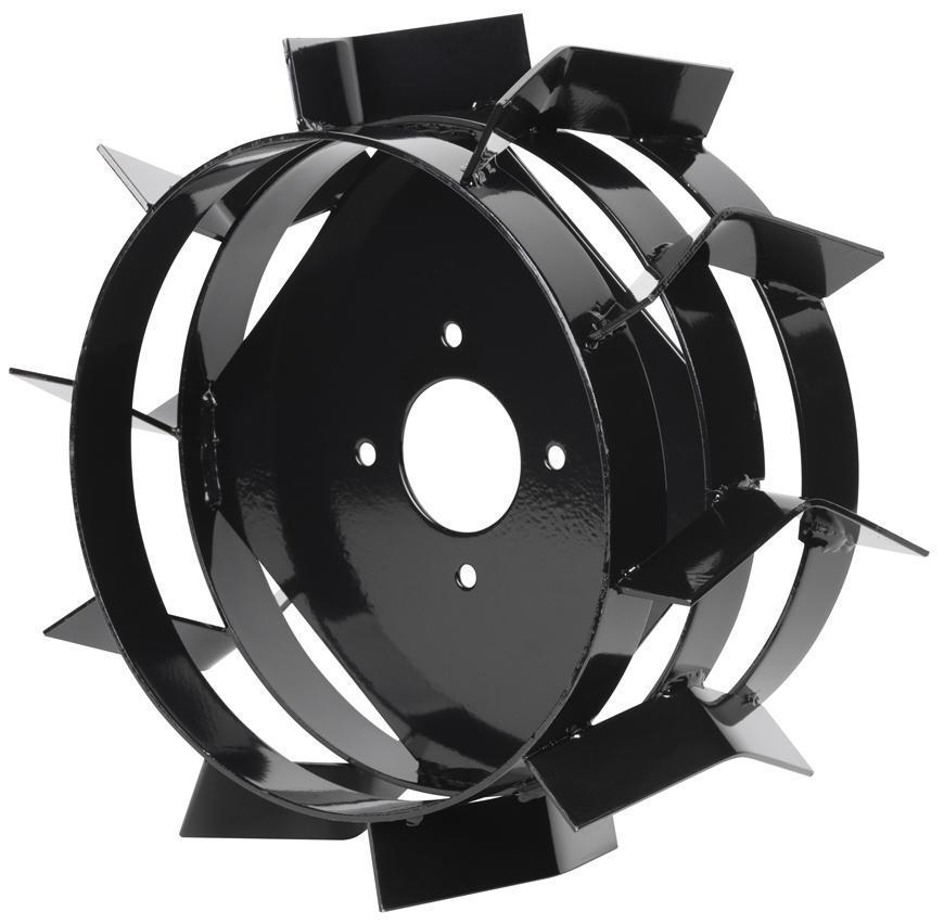 Kolesá na rotavátor Worcraft WPLM112 lopatkové kovové (1 pár), 4,0-8, A