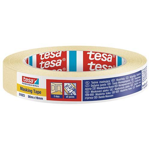 Páska tesa® PRO, maliarska, maskovacia, 19 mm, L-50 m