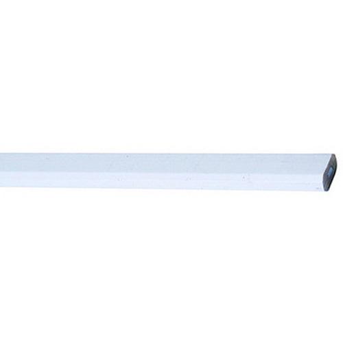 Ceruzka Strend Pro CP0720, tesárska, 250 mm, biela, oválna