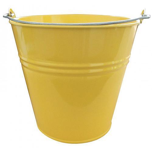 Vedro GECO 20108, 7 lit., žlté, kovové
