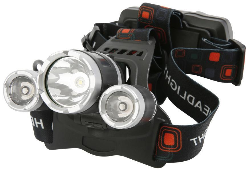Čelovka Strend Pro Headlight H931, T6+2 XPE 300 lm, 1200mAh, USB nabíjanie