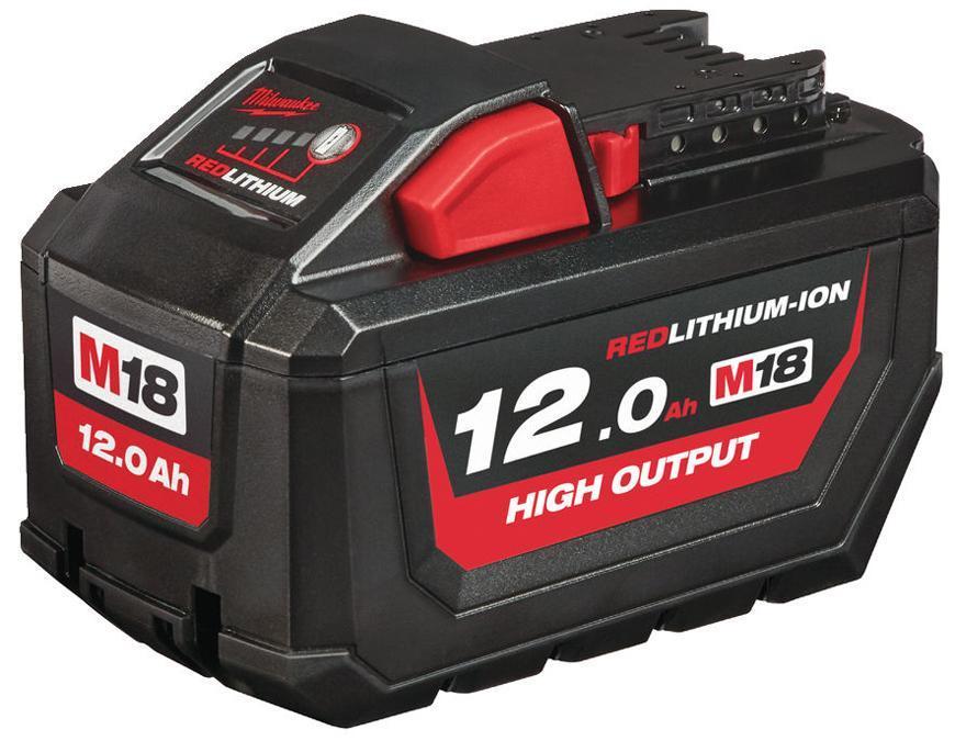 Akumulator Milwaukee M18 HB12 Li-ion, 18V, 12.0 Ah