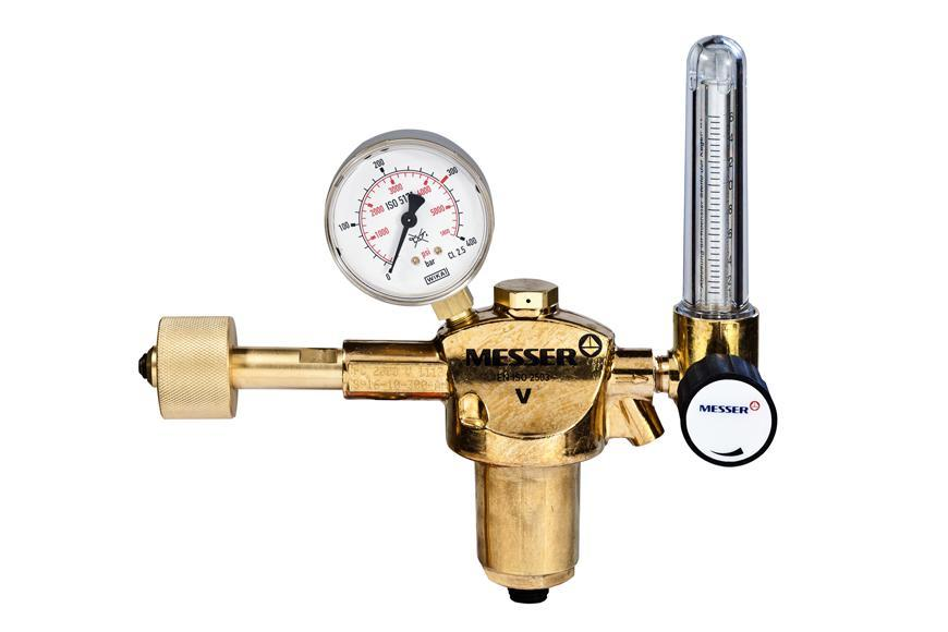"Ventil Messer 717.07421, G1/4"", DN6, 16l/min, Ar/CO2, vstup 300bar, prietokomer"