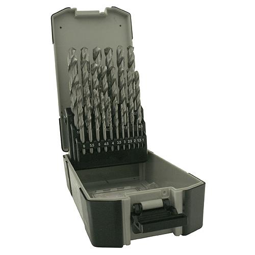 Sada vrtákov Strend Pro 4241, do kovu, 25 diena, 1-13 mm, HSS, DIN-338