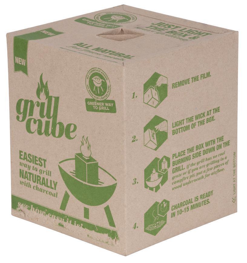 Uhlie GrillCube EASY BBQ, 5,4 lit, na grilovanie