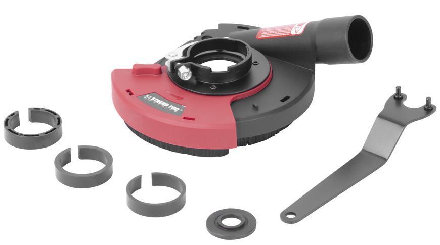 Kryt Strend Pro DP128, odsávací, 115/125 mm, na uhlovú brúsku