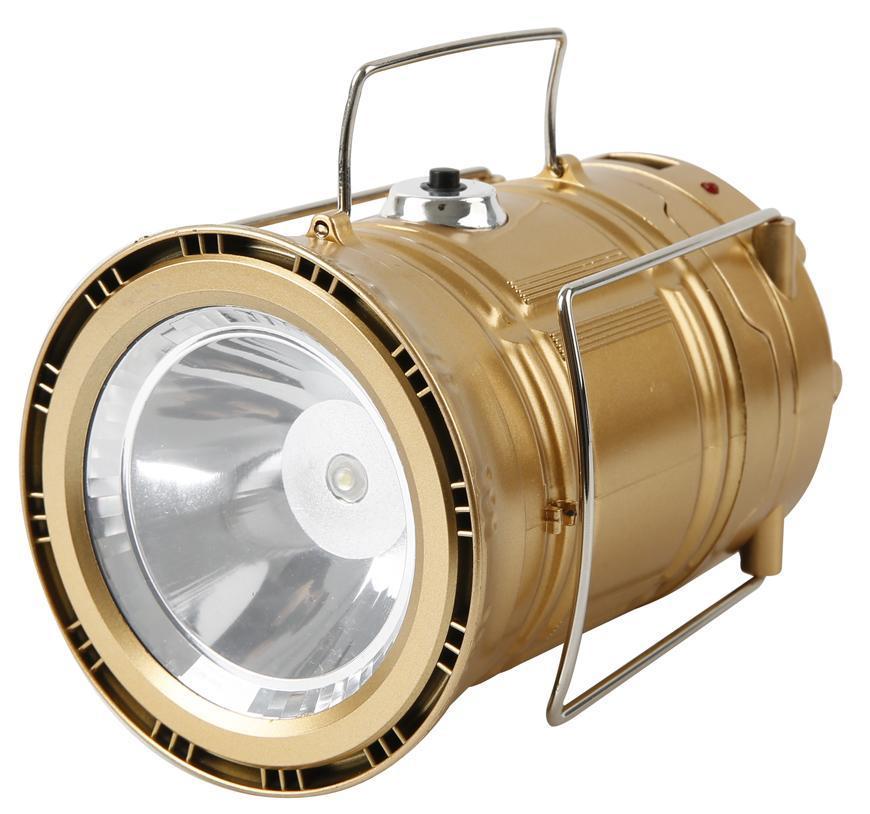 Lampa Strend Pro Camping CL102, LED, 80 lm, 1200mAh, efekt plameňa, USB nabíjanie