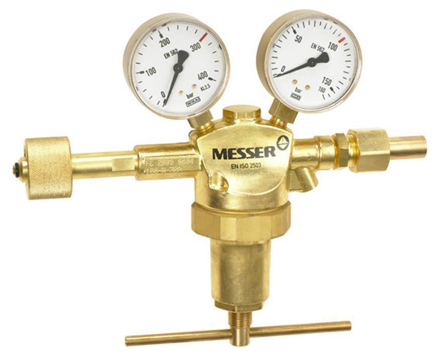 "Ventil Messer 717.05527*, G1/2"", 200 bar, Ochr. a vzacny plyn"