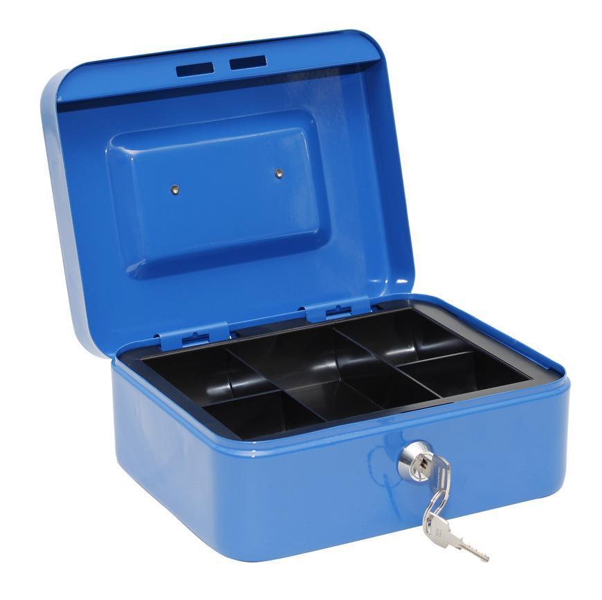 Skrinka CashBox 200x160x90 mm, na peniaze